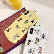 【ファッション新品】 携帯電話ケース iPhoneカバー スマホケース 保護 スヌーピー ファッション