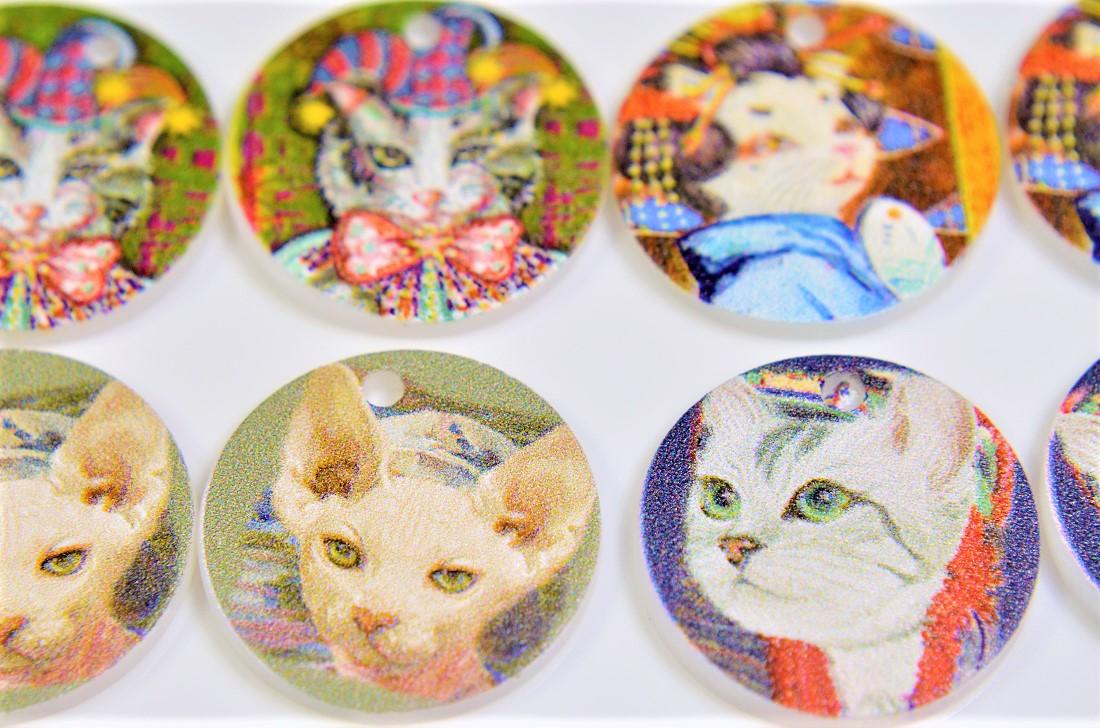 猫雑貨 デコパーツ トレンドパーツ 猫パーツ