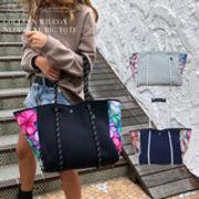 【受注生産商品】Colleen Wilcox ネオプレーントートバッグ