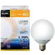 ELPA LED elpaball(エルパボール) 40W相当 G95ボール電球形 広配光タイ...