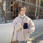 韓国ファッション もこもこシープボアジャケッシリーズ2
