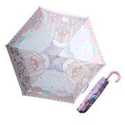 【折り畳み傘】リトルツインスターズ キキ&ララ 折りたたみ傘 スリープ