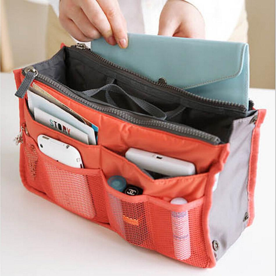 手提げバッグ整理ポーチ化粧ポーチメイクボックスコスメポーチバッグインバッグ多機能