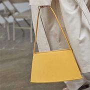 アンダーアームバッグ エレガント アメリカ 三次元 幾何学 シングルショルダー 台形バッグ シンプル