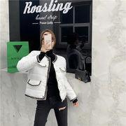 大好評レビュー続々 韓国ファッション カラーマッチング コットンウェア コート デザインセンス