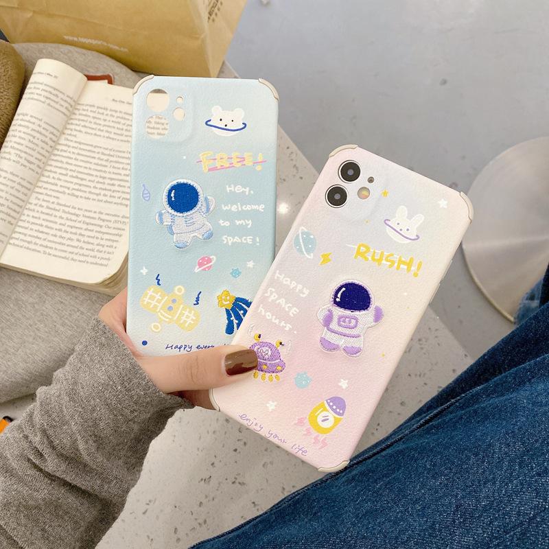 背面刺繍 iPhone SE 第2世代 iPhoneケース iPhone 12 mini ケース