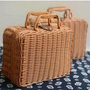 【送料無料】バッグ キッズ かごバッグ かばん バッグ 手作り 農園風 ファッション雑貨