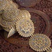 チロリアンテープ メーター売 - 金糸が美しい 更紗