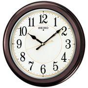 【新品取寄せ品】セイコークロック 電波掛時計 KX385B