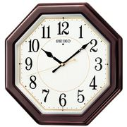 【新品取寄せ品】セイコークロック 電波掛時計 KX386B