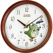 【新品取寄せ品】リズム時計製 掛時計「トトロM27」8MGA27RH06