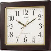 【新品取寄せ品】シチズン電波掛時計「ネムリーナアスカ」8MY455-006