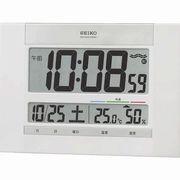 【新品取寄せ品】セイコークロック 電波置掛兼用時計 SQ429W