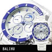 【Bel Air collection】★マルチファンクション メンズ腕時計 DP4【BALIHU】
