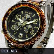 【Bel Air collection】★マルチファンクション メンズ腕時計 OSD55【左利きモデル】