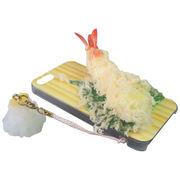 日本職人が作る 食品サンプルiPhone5ケース 天ぷら えび ストラップ付き IP-217