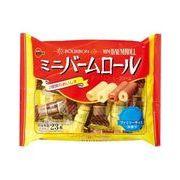 ◆定番人気◆2種類の味を詰合せしたファミリーサイズパック【ブルボン・ミニバームロール】
