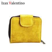 【在庫限り】Izax Valentino  クロコ風水カードケース