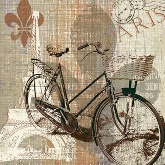 Paw Decor Collection ペーパーナプキン <エッフェル塔×自転車>