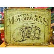 アメリカンブリキ看板 Vintage Iron Motorworks