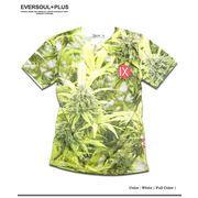 ★海・山・リゾートで大活躍!★フルカラーインクジェットプリントが鮮やかなLEAFフォトTシャツ!★