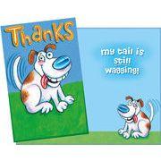 Stockwell Greetings グリーティングカード サンキュー用 犬