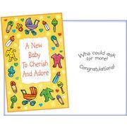 Stockwell Greetings グリーティングカード 出産祝い用 ベビーカー・おもちゃ