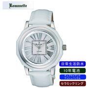 【ROMANETTE】ロマネッティ メンズ腕時計RE-3521M-3 アナログ表示 10年電池 日常生活用防水