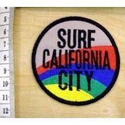 輸入ワッペン SURF CITY CALIFORNIA