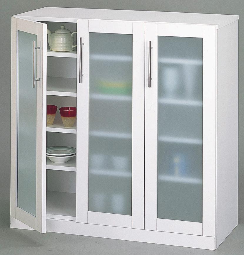 カトレア 食器棚90-90