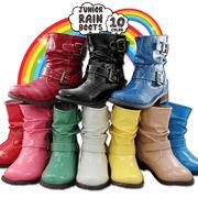 クシュクシュ♪♪キッズレイン HY BY JUNIOR RAIN BOOT 2112