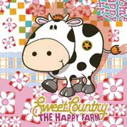 Daisy  ペーパーナプキン 牛×フラワー