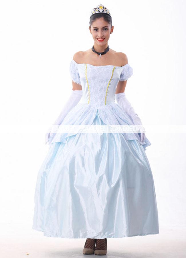 姫ドレス ハロウィン アナの女王 コスプレ 7658