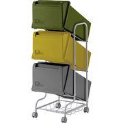 リス 『分類ゴミ箱』 コンテナスタイル3 CS3-60 60L MX4