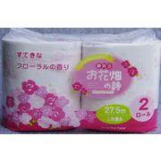 ●☆泉製紙 お花畑の詩 トイレットペーパー  ダブル 27.5m 2ロール×48パック 07306