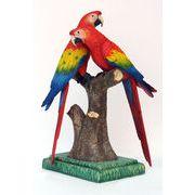 プロモーションドール【Scarlet Macaw Lover】コンゴウインコのオブジェ