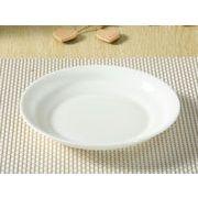 【強化】 丸皿(7号深め)  中華皿/ おうちカフェ/白食器