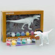 《おススメ》【在庫数より取寄せ可】ティラノサウルス◎ペイントザダイナソー(彩色フィギュアキット)