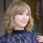 【ユニガール】ライトウェイトな細巻きウィッグ☆『グラマラスショートカール』