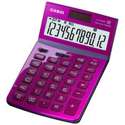 JF-Z200-PK-N カシオ デザイン電卓 ジャストタイプ 12桁 ピンク