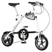 (欠品・入荷未定)NANOO FD-1207 折畳み自転車【ホワイト】品番18361【代引き不可】