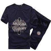 セットアップ Tシャツショーツ上下セット メンズ 3色 大きいサイズ M-3XL 100732
