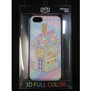 【iPhone5 対応】DFD iphoneケース ツヤありの光沢ある仕上がり お菓子の家 メルヘン
