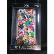 【iPhone5 対応】DFD iphoneケース ツヤありの光沢ある仕上がり ボタン ヴィヴィッドボタン