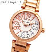 正規品【melissapetit メリッサプティ】コンビカラーインデックス・レディース腕時計[全3色] MPSR02RG
