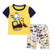 格安!!NEW★子供★幼児★車★ブルドーザー★ショートパンツ★Tシャツ+半ズボン