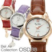 【レディース仕様】★ラインストーン レディース腕時計 OSD36【保証書付】