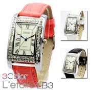 【L'etoile】 レディース腕時計 LB3【保証書付】