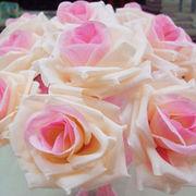 ふんわり薔薇付きボールペン結婚式パーティー受け付け華やかムード