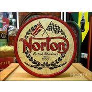 アメリカンブリキ看板 Norton/ノートン ロゴマーク